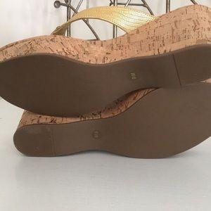 d529eb530ac13 Tory Burch Shoes - 9.5 Tory Burch Thora Wedge Sandal Flip Flop Cork